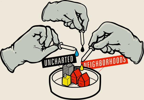 Uncharted Neighborhoods